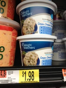 Wight Watchers Cheese Deal 225x300 Weight Watchers Cream Cheese only $.98 at Walmart!