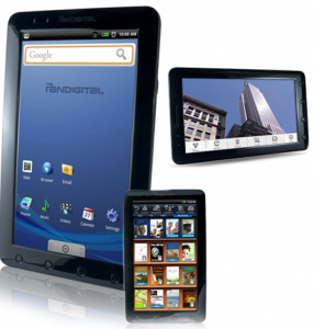 barnes and noble book reader android deal 286x300 Google Android 9 Tablet PC w/ Barnes & Noble Bookstore   $69.99
