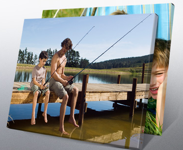 canvas print deal Wrapped Canvas Prints   $29 w/ free shipping (reg $110)