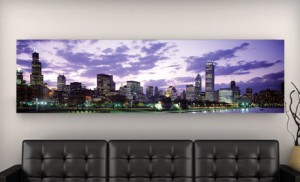 groupon City Skyline Canvas Pring 300x182 City Skyline Canvas Print, 50x17 Just $99!
