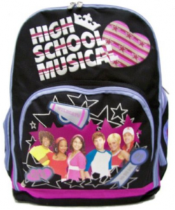 high school musical backpack 250x300 High School Musical   Large backpack $10.49 shipped