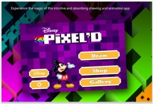 pixeld screen shot 300x204 FREE Disney iPod/iPad/iPhone App! Pixeld