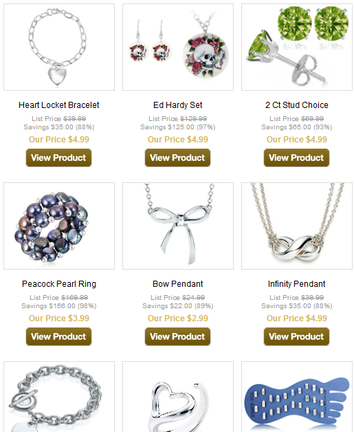 sale Under $5 Jewelry Sale (free shipping)