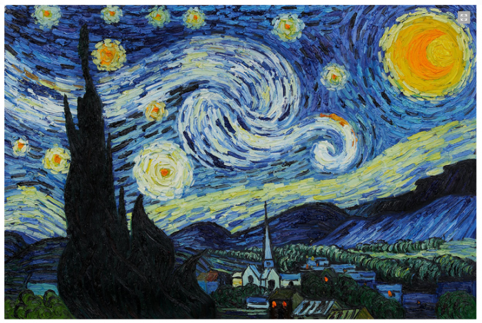 vincent van gogh starry night deal discount Art Gallery Sale starting prices $12.50   Vincent Van Gogh for $25 (reg $100)