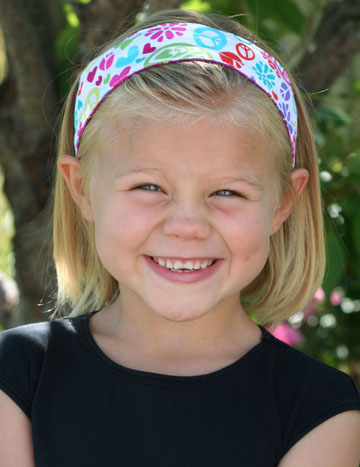 April Cobb little girl headband Blogiversary Giveaway #6:  3 Macey Jayne Reversible Headbands *2 Winners*
