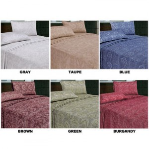 Designer Christing Soft Touch Sheet Set 300x300 $20 Shipped: Designer Christina Soft Touch Sheet Set
