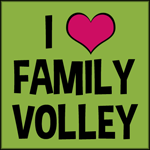 Family Volley Blog Logo Winner, Winner!  TEN Winners Announced!