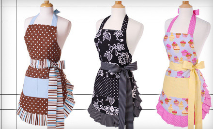 Flirty Aprons 4 grid 6 $15 for $30 at Flirty Aprons!