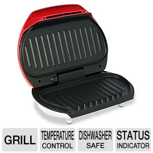 George Foreman Grill Deal George Foreman 50 Red Grill $17.99 Shipped (Reg $39.99)