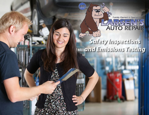 Larsens Auto Repair Safety Emissions Safety Inspection & Emissions Test for Only $15! Plus FREE Trip Check! (Provo)