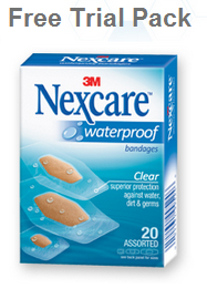 Nexcare Waterproof Free Trial Pack FREEBIE! Nexcare Waterproof Bandages (Hurry   15,000 Available)