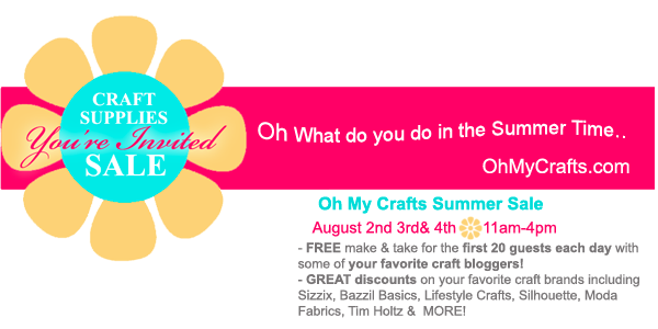 Oh My Crafts Sale *Update* Huge Sale and Freebies at Oh My Crafts this Weekend!!