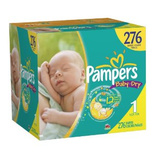 Pampers Deal Pampers Size 1 Diapers $.13 each ~ Shipped FREE!