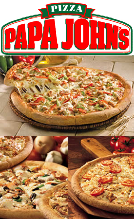 Papa Johns Papa Johns:  50% Off Your Online Order!