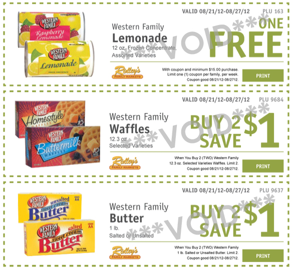 Ridleys ecoupons Aug 21 copy Ridleys Family Market: Weekly eCoupons for August 21 27 (FREE Lemonade!)