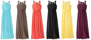 Target Mossimo Maxi Dress 300x132 Target: Maxi Dress for $15 and Girls Pink Umbrella for $5   Shipped FREE!