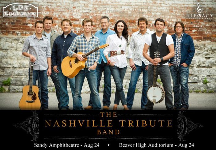 The Nashville Tribute Band Blogiversary Giveaway #3:  One Pair of Tickets to The Nashville Tribute Band Concert Sat! *Utah*