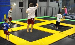 Trampoline Park 300x182 Indoor Trampoline Park Outing: Up to 53% Off (Get Air In Roy)