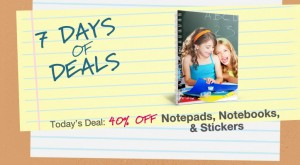 Walgreens Photo Deal 40 off 300x165 Walgreens Photo: 40% Off Notepads, Notebooks, & Stickers (Hurry, Expires Soon!)