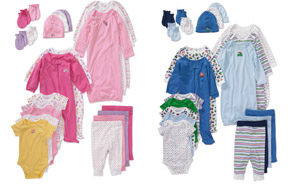 Walmart Garanimals Layette Sets 21 Piece Layette Sets Only $25!
