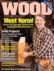 Wood Magazine Today Only: Wood Magazine for $3.99/Year!
