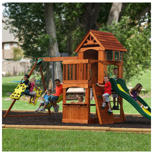 adventure playsets Adventure Playsets Wooden Swing Set on Rollback for $499! (Regularly $599)
