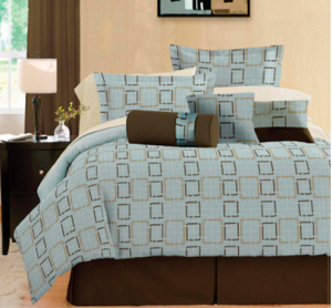bedding set 300x278 Full, King or Queen 7 pc bedding sets $29.99!