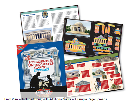 books Building Blocks Set   Build historical monmuments! $99.99 (reg $199)