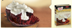 duncan hines red velvet cupcakes 300x118 Duncan Hines Red Velvet Cupcake: $1/1 Coupon!