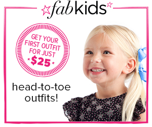 fkbanneralt300x250copy FabKids Outfit for 50% Off!