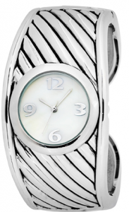 fmd watch 183x300 Bangle by FMD White Mother of Pearl ladies watch   $7.98
