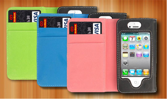 iphone wallet case $15 Shipped for Leather iPhone Wallet Case ($30 Value)