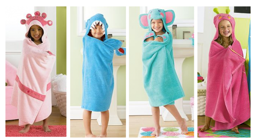 kohls towels Jumping Bean Bath Wraps $8.98 shipped (reg $29.99)