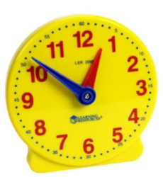 learning clock Learning Resources Big Time 12 Hour Student Clock $5.99