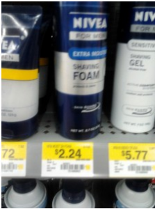 nivea shaving foam 223x300 Nivea Face Care for Men coupon = $0.24 Shave Foam