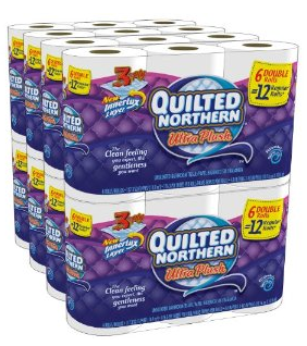 quilted northern tp Quilted Northern Ultra Plush TP $21.74 = $.22/reg roll   3ply