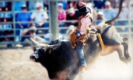 salt lake rodeo Rodeo! Save 50% on Tickets for 2 or 4 (Salt Lake Equestrian Center, Labor Day Weekend)