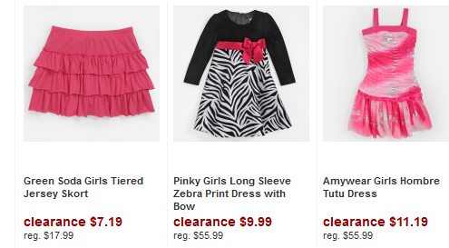 shopko girls 50% off Clothing + FREE shipping!!! at ShopKo
