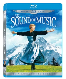 sound of music blu ray The Sound of Music 3 Disc 45th Anniversary (Blu ray/DVD) $17.96 (reg $34.99)
