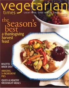 vegetarian times 236x300 Vegetarian Times Magazine: Only $5.49/year!