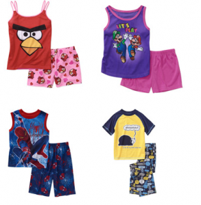 walmart pajamas 293x300 Walmart.com: Girls and Boys Pajamas Only $5! Lots of Styles!