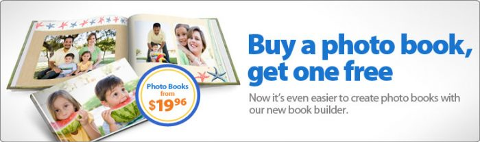 walmartb1g1 free photo book offer Walmart: B1G1 FREE Photo Books!