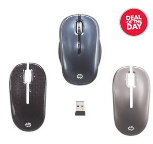 wireless mouse deal1 HP USB Wireless Optical Mouse   $10 shipped (reg $30)