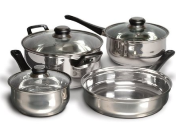 7 piece cook set Cuisine 7 Piece Stainless Steel Set $18.51 (reg $80)