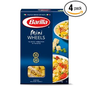 Barilla Wini Wheels Barilla Pasta Deals!  $1.16 each Shipped.