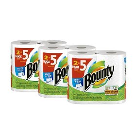 Bounty Huge Roll Deal Bounty Select A Paper Towels $.97 per Regular Roll!!  Shipped Free!