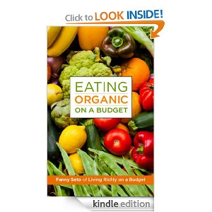 Eating Organic on a Budget Free Book Free eBook:  Eating Organic on a Budget