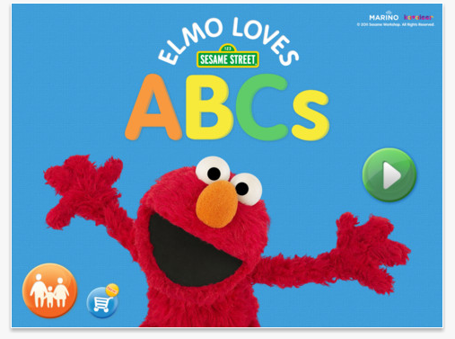 Elmo iPad App Elmo Loves ABCs for iPad App $.99 (Reg $4.99)