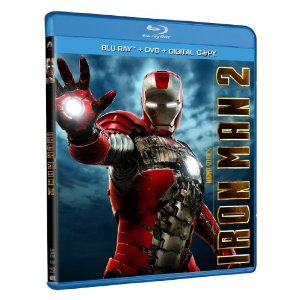 Iron Man 2 Iron Man 2 Blu ray, DVD, and Digital Copy Only $9.99 Shipped!