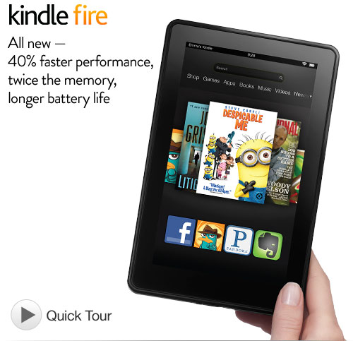 Kindle Fire *Hot*  New Kindle Fire only $159!!